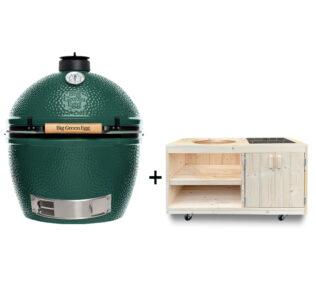 Big-Green-Egg-XL-met-steigerhout-tafelkast-met-opbergruimte