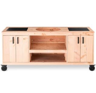 Douglas tafel met dubbele opbergkast keukenmodel TD700 (1)