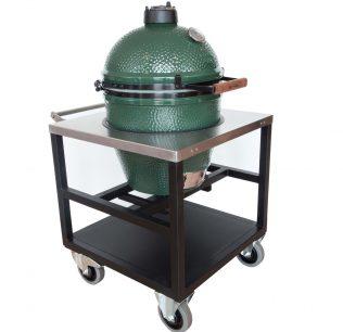 Big-Green-Egg-Large-met-RVS-werktafel-horeca-