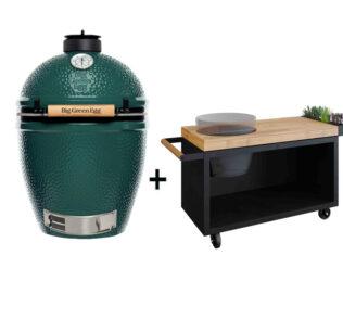 Big-Green-Egg-Large-met-OFYR-Kamado-Table-135-PRO-Black-teakhout-1