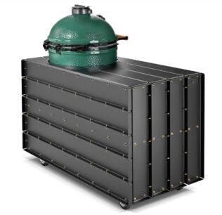 Big Green Egg-Large-DWARS-Steel Furniture-135 cm