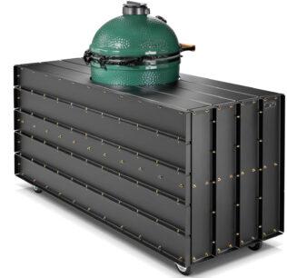 Big Green Egg-Large-DWARS-Steel Furniture-180-cm Back